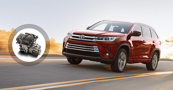 2018 Toyota Highlander Engine Specs & Capabilities