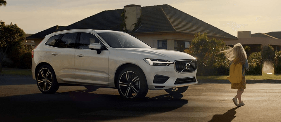 2018 Volvo XC90 side exterior aerial view