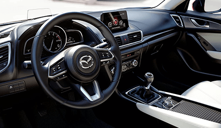 2018 Mazda3 Interior Dashboard
