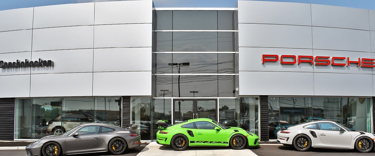 Porsche Dealership Near Wayne