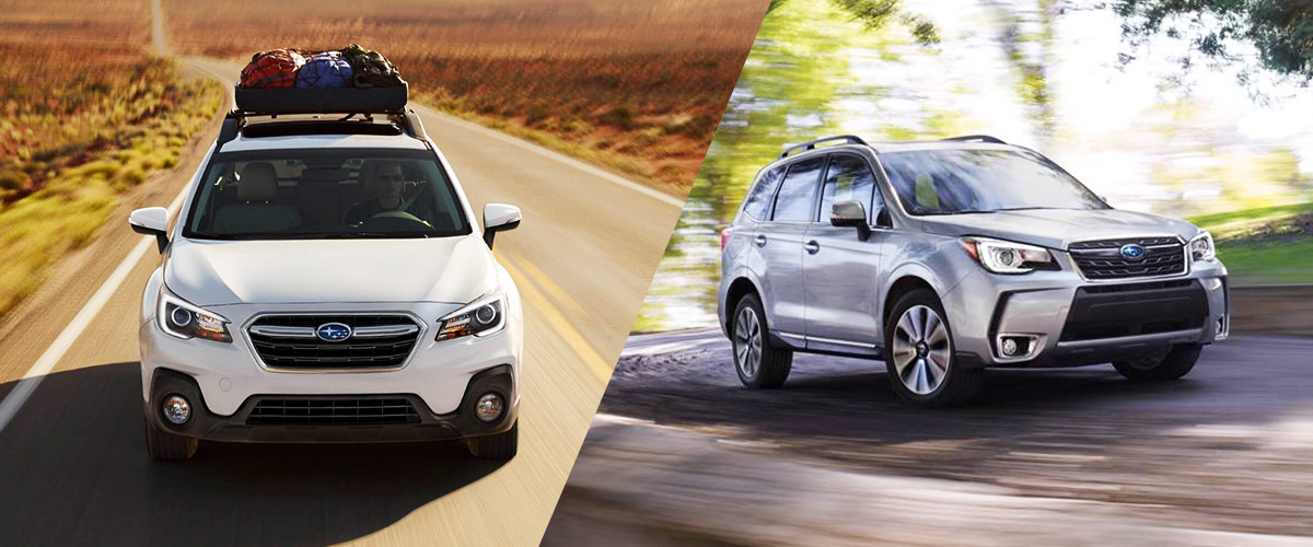 Forester Vs Outback >> 2018 Outback Vs 2018 Forester Tyler Tx Subaru Dealership