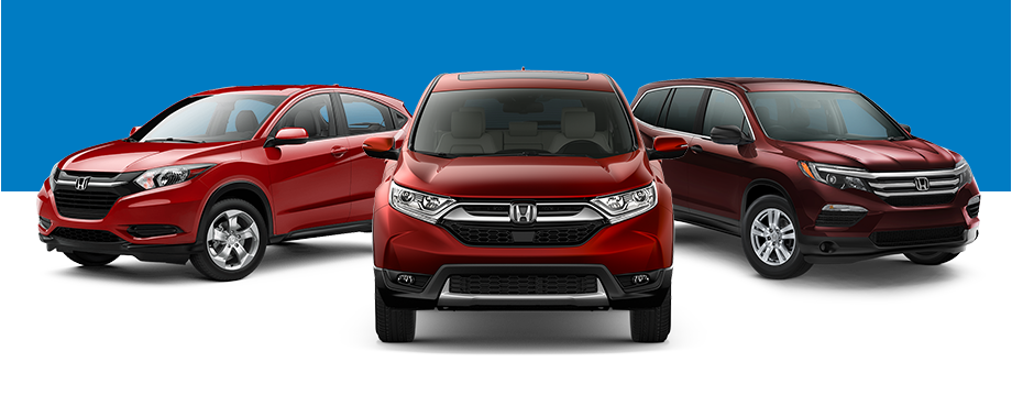 2018 Honda SUV Line-Up