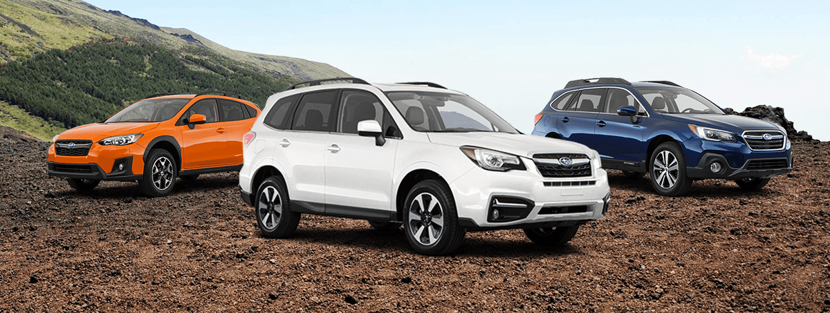Peltier Subaru 2018 Model Line Up