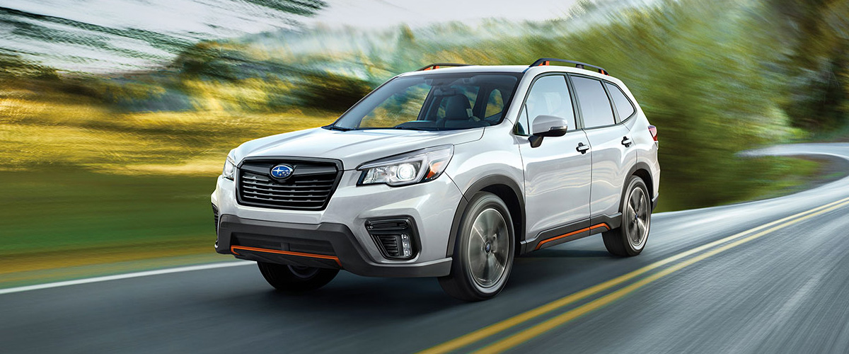 2019 Subaru Forester header