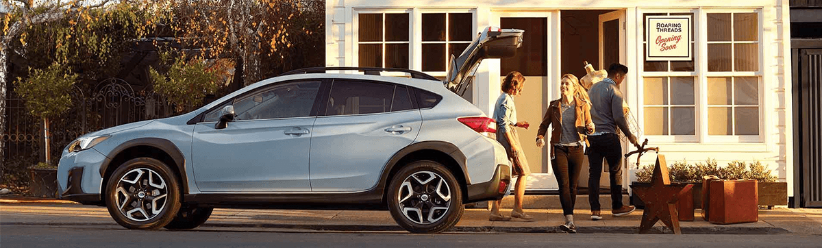 2019 Subaru Crosstrek getting packed with items