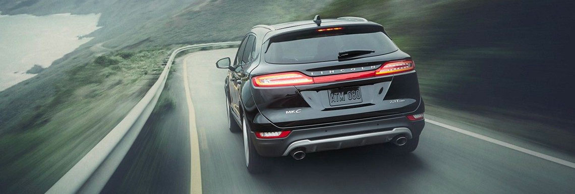 2018 Lincoln MKC rear view