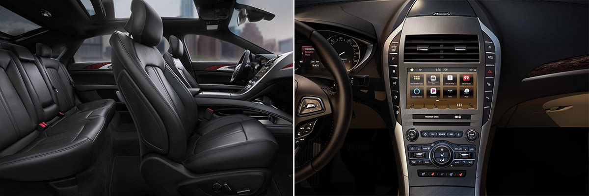2019 Lincoln MKZ Interior & Technology