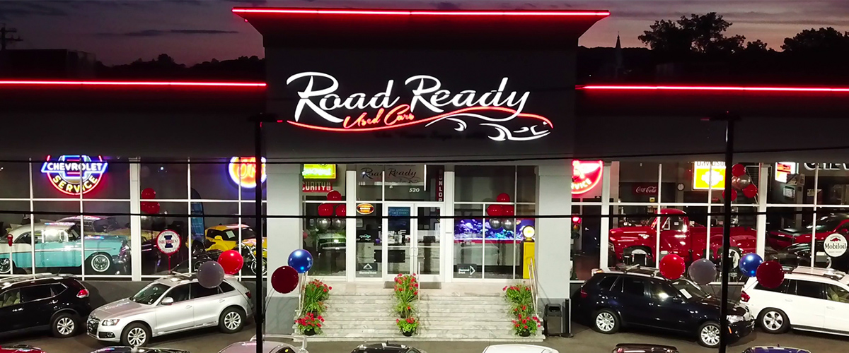 Road Ready Used Cars Storefront