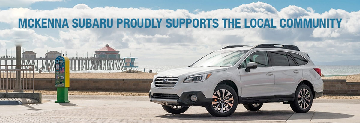 McKenna Subaru Shares the Love & Proudly Supports the Local Community