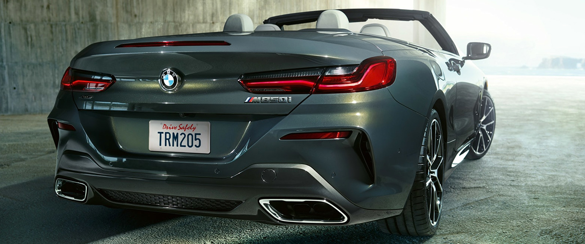 2019 BMW 8 Series Convertible rear tail light