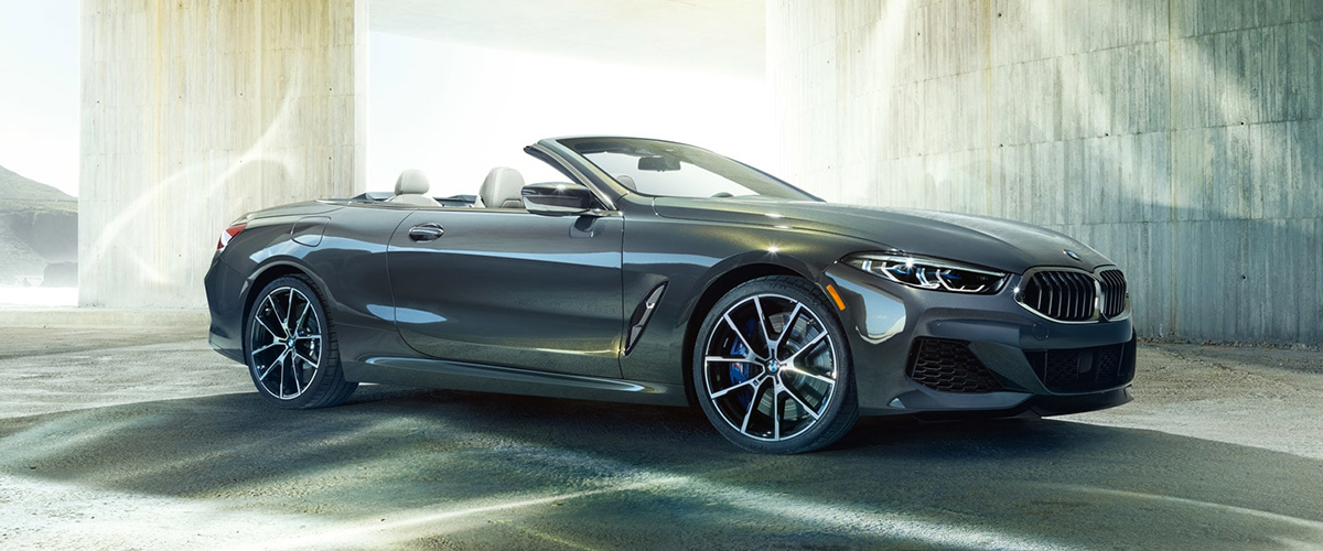 2019 BMW 8 Series Convertible header