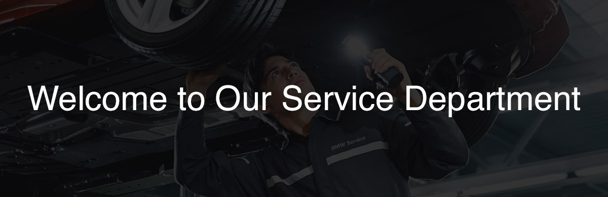 Critz BMW Service Center  Header