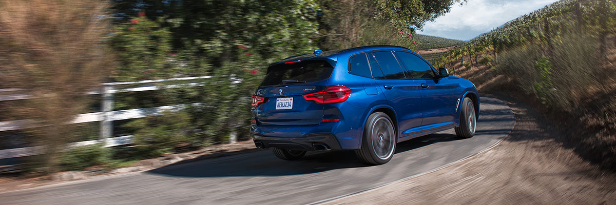 2019 BMW X3 sDrive30i Performance & Safety