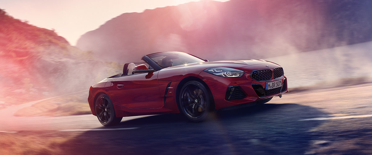 The All-New 2019 BMW Z4  header