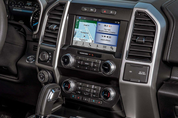 2019 Ford F-150 Interior Features & Technology