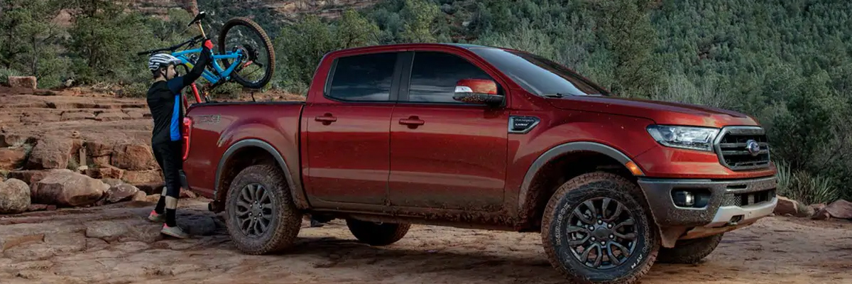 2019 Ford Ranger footer