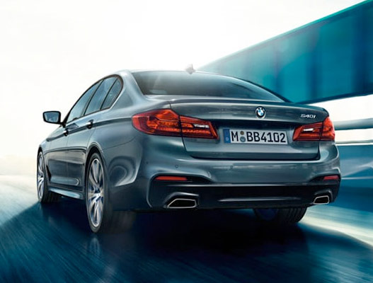 2019 BMW 5 Series Engine Options & Safety Features