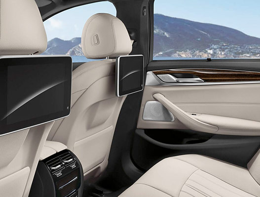 2019 BMW 5 Series Interior & Technology Features