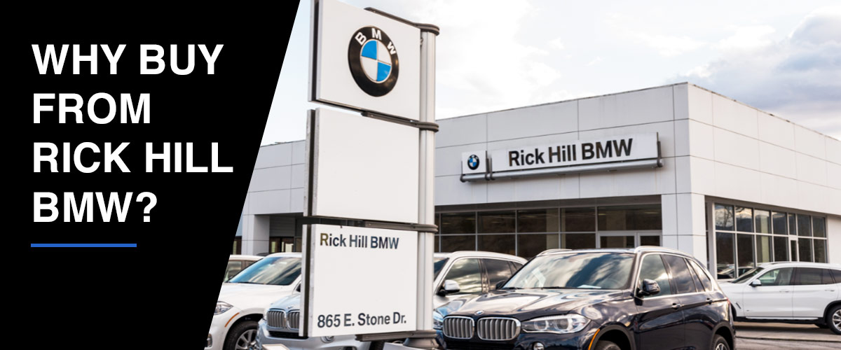 Why Buy From Rick Hill BMW? header