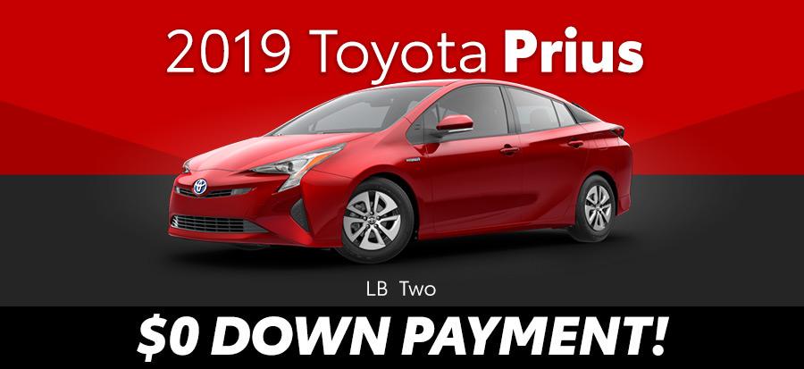 2019 Toyota Prius LB Two