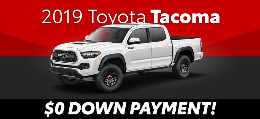 2019 Toyota Tacoma SR Double Cab