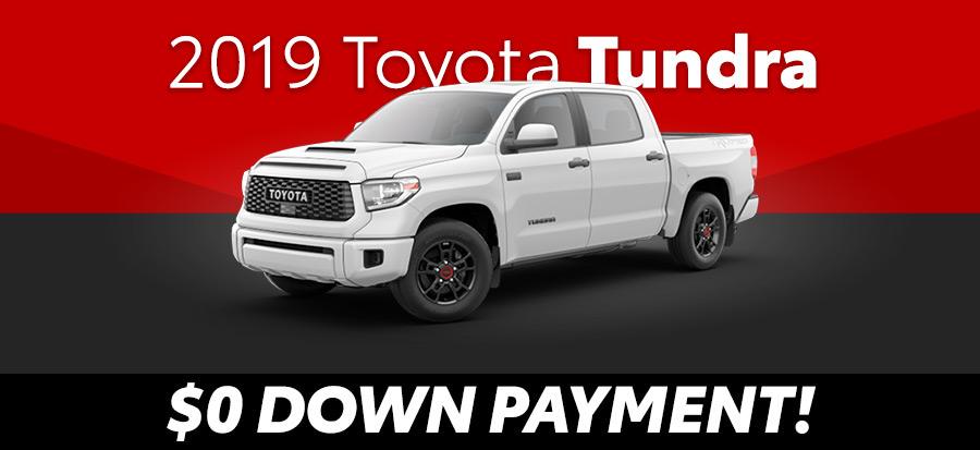 2019 Toyota Tundra SR Double Cab V8