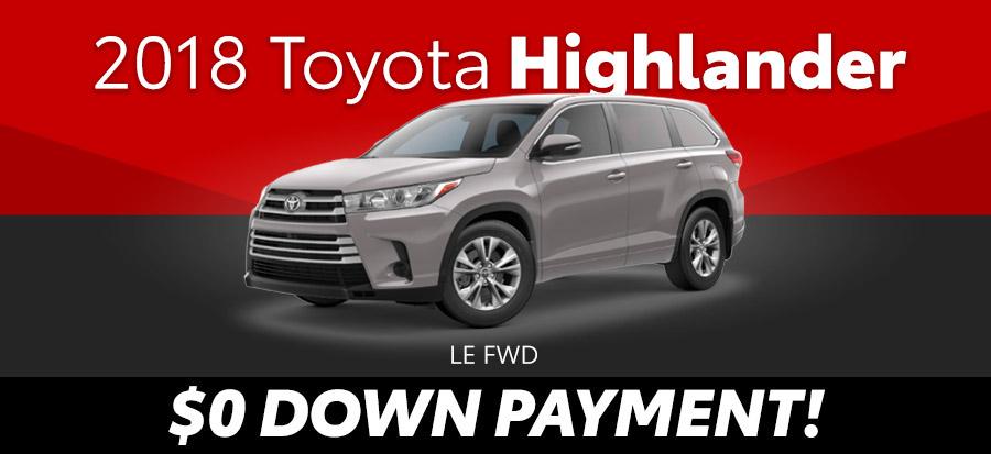 2018 Toyota Highlander LE FWD
