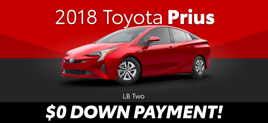 2018 Toyota Prius LB Two