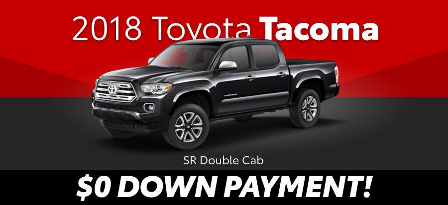 2018 Toyota Tacoma SR Double Cab