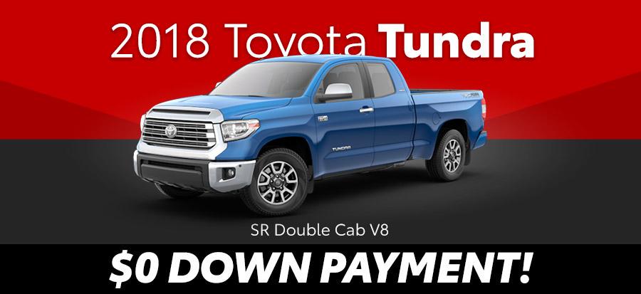 2018 Toyota Tundra SR Double Cab V8