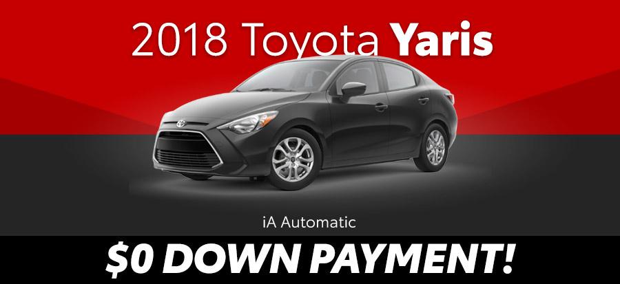 2018 Toyota Yaris iA Automatic