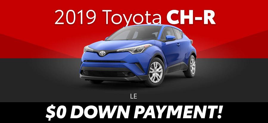 2019 Toyota CH-R LE