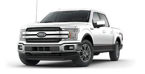 2018 Ford F-150 Front Exterior in Oxford White at Summit Ford