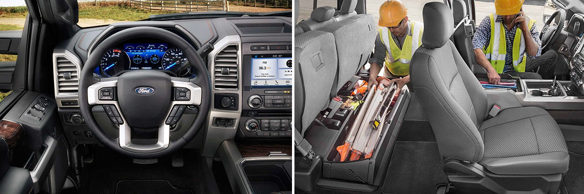 2018 Ford Super Duty Interior & Technology