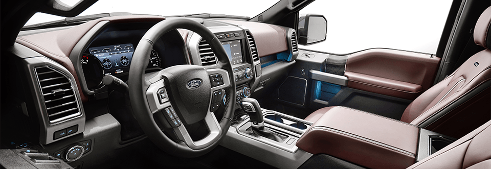 2018 Ford F-150 Interior at Summit Ford