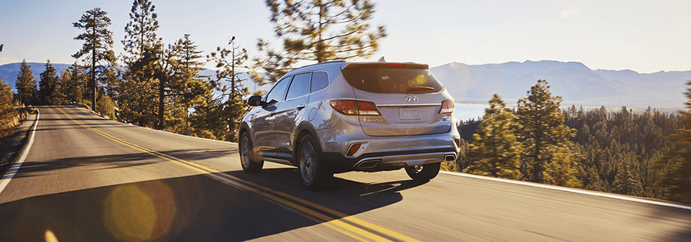 The New 2018 Hyundai Santa Fe - Rear Exterior