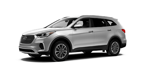 The New 2018 Hyundai Santa Fe - Exterior in Silver