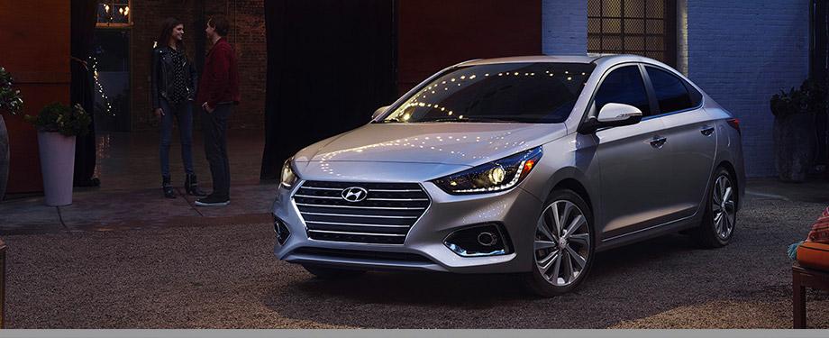2018 Hyundai Accent - Exterior - Silver