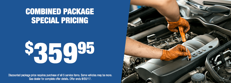 Combined Package Special Pricing