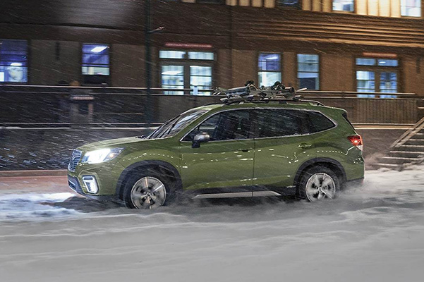 2019 Subaru Forester in snow