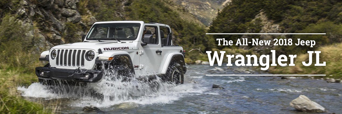 The All-New 2018 Jeep Wrangler JL is Coming Soon