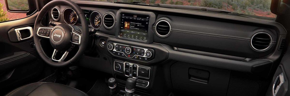 2018 Jeep Wrangler JL dashboard