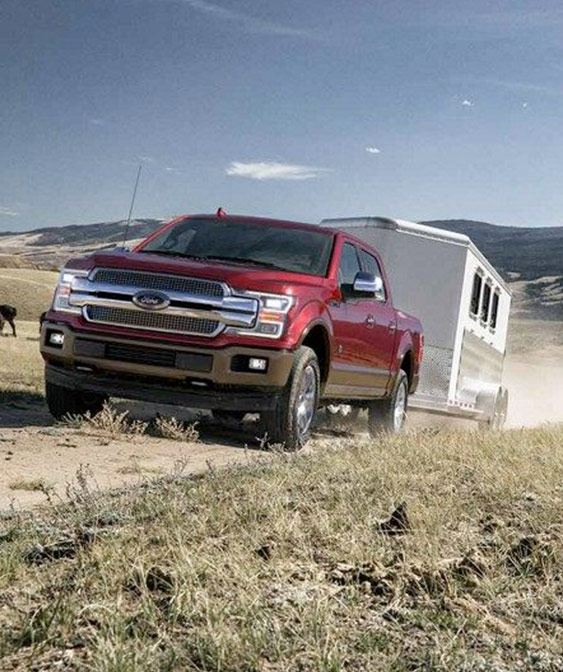 Best-in-class towing capability