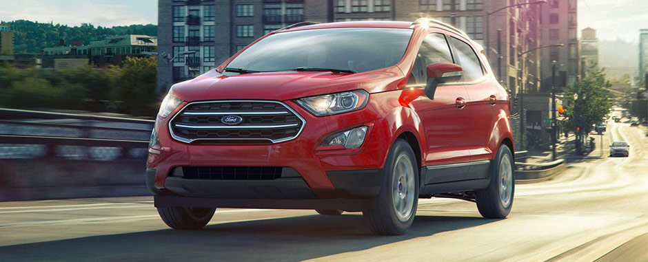 red 2018 Ford EcoSport