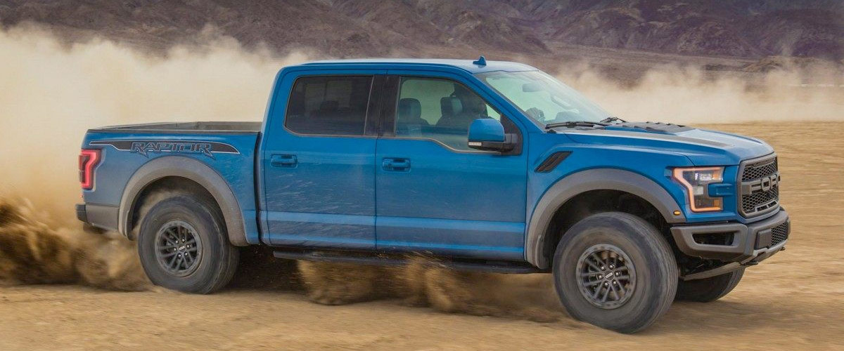 2019 Ford Raptor Header