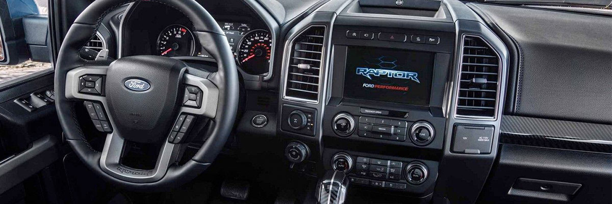 2019 Ford Raptor Interior