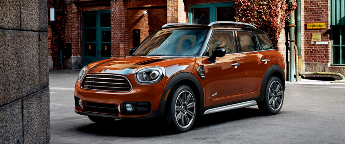 2019 MINI Countryman Footer