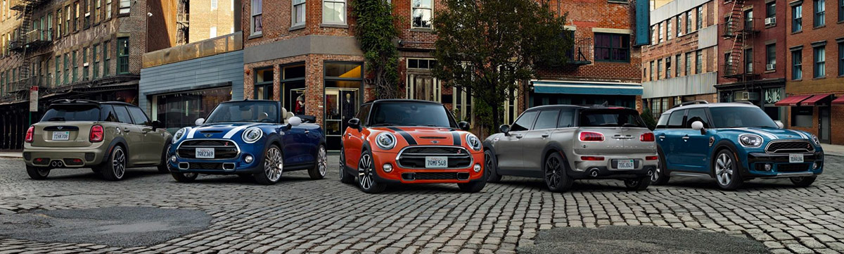 Find The MINI Of Your Dreams Header