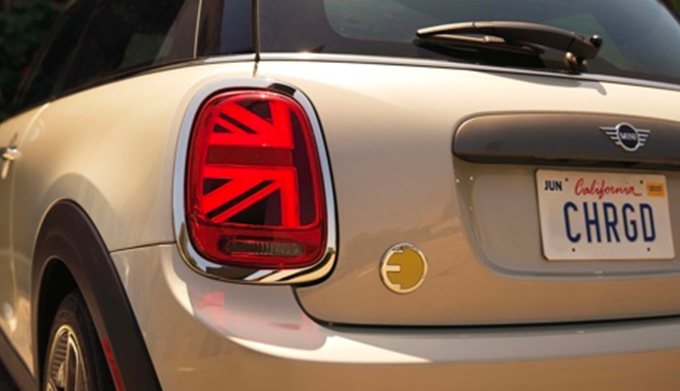 2020 MINI Electric Hardtop 2 Door rear