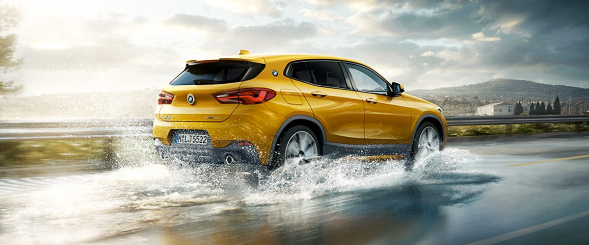 2018 BMW X2 Footer